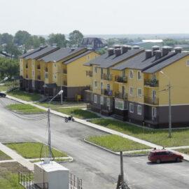 Строительство малоэтажных жилых домов в п.Ново-Троицкое (1 и 2 очередь строительства)