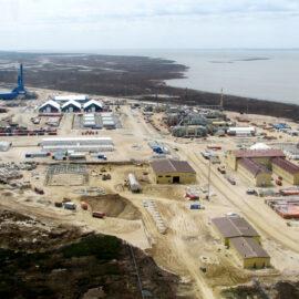 Строительство КЭМПа на СБП Одопту. Проект «Сахалин-1»