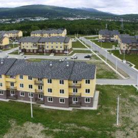 Строительство малоэтажной жилой застройки в микрорайоне «Октябрьский» в г.Южно-Сахалинске