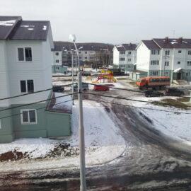 Строительство жилых домов по ул. 8 марта в пгт. Смирных