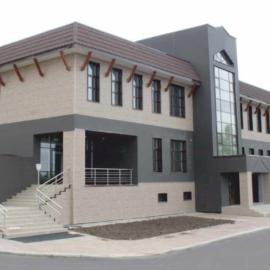 Биатлонный центр в г. Южно-Сахалинске