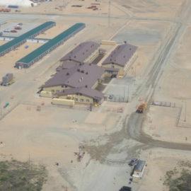 «Проектирование и строительство административно-служебного и жилищно-охранного комплекса  для БКП Чайво.  Проект «Сахалин-1»