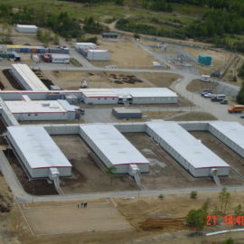 «Строительство базового лагеря в п. Ноглики. Проект «Сахалин-1»