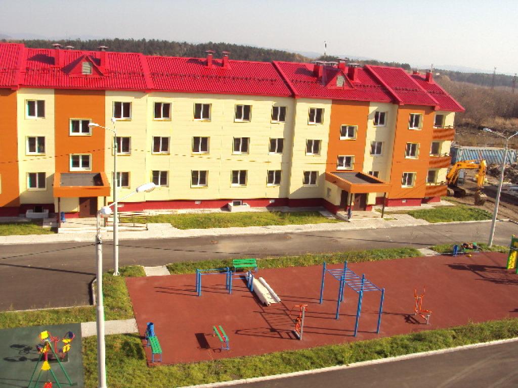 Строительство «под ключ» жилых домов по ул. Промышленной в с.Красногорск