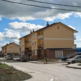 Застройка жилого микрорайона по ул.Долинская в г.Южно-Сахалинске