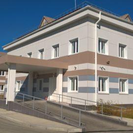 Амбулатория на 120 посещений в смену в с. Троицкое