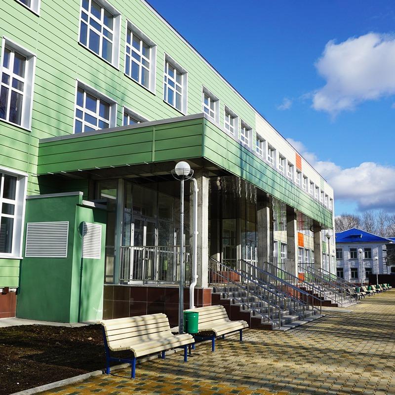 Окончание работ по строительству объекта «Школа на 910 мест в пгт. Смирных»